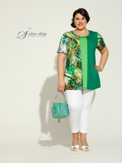 Женская одежда больших размеров - блузка - 2454214