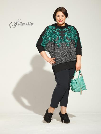 Женская одежда больших размеров - блузка - 2454281