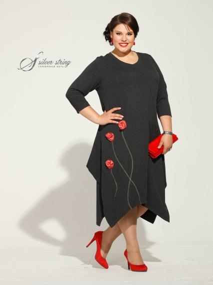 Женская одежда больших размеров - платье - 2455397