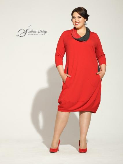 Женская одежда больших размеров - платье - 2455311
