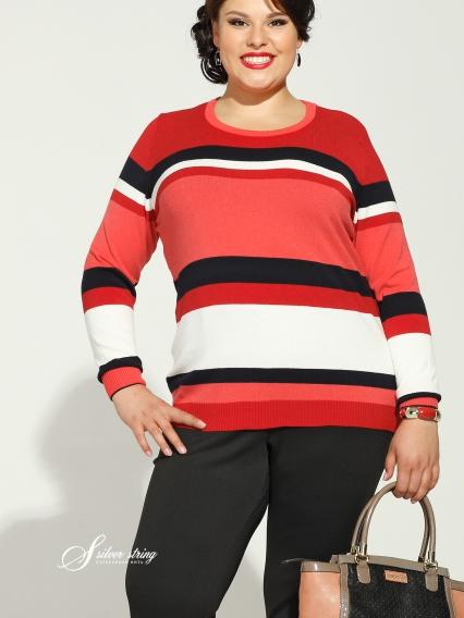Женская одежда больших размеров - джемпер - 2484016