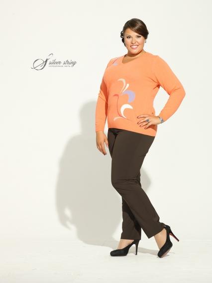 Женская одежда больших размеров - джемпер - 2474005