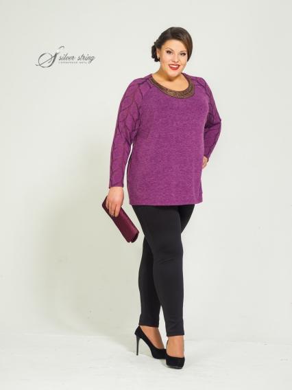 Женская одежда больших размеров - блузка - 2454490