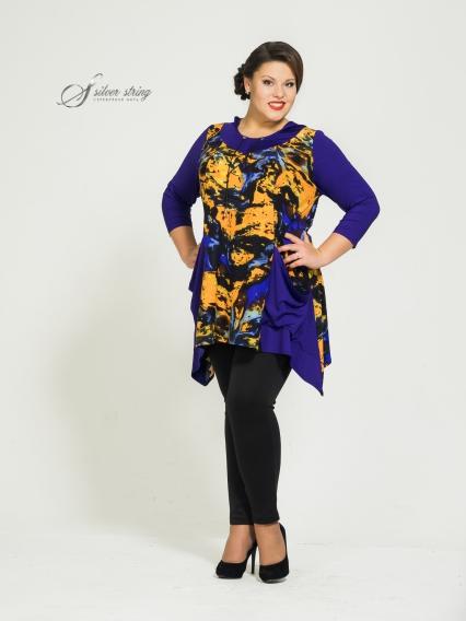 Женская одежда больших размеров - туника - 2535074