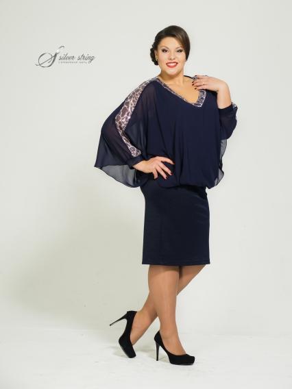 Женская одежда больших размеров - платье - 2455309