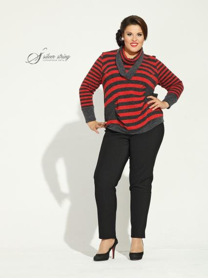 Женская одежда больших размеров - блузка - 2454449