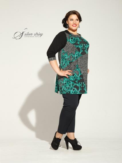 Женская одежда больших размеров - туника - 2435307
