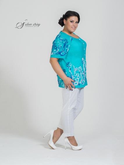 Женская одежда больших размеров - блузка - 2504142