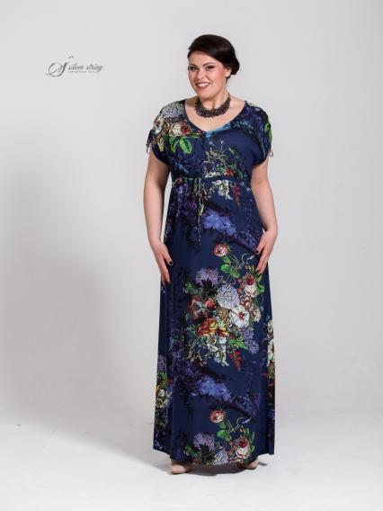 Женская одежда больших размеров - платье - 2505405