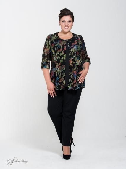 Женская одежда больших размеров - блузка+топ - 251410102