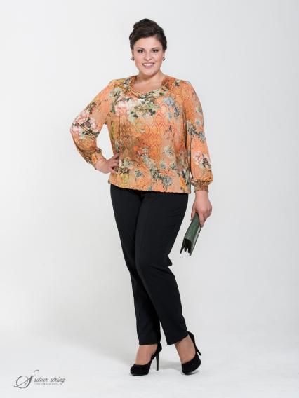Женская одежда больших размеров - блузка - 255439304