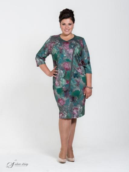 Женская одежда больших размеров - платье - 255553831
