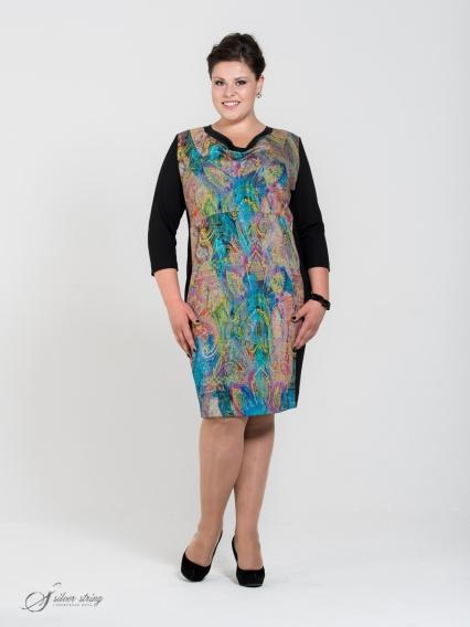 Женская одежда больших размеров - платье - 255553755