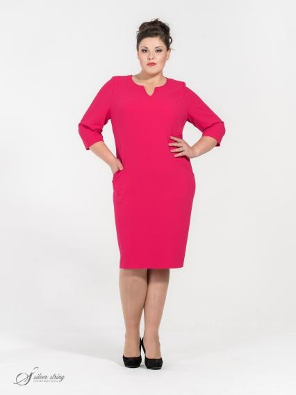 Женская одежда больших размеров - платье - 250563842