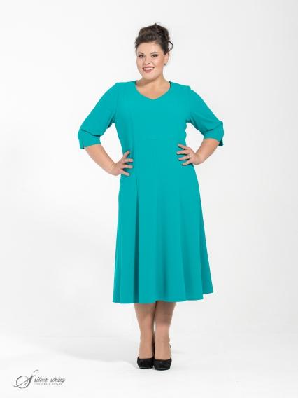 Женская одежда больших размеров - платье - 250565039
