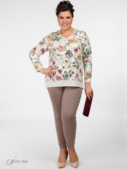 Женская одежда больших размеров - джемпер - 265913655