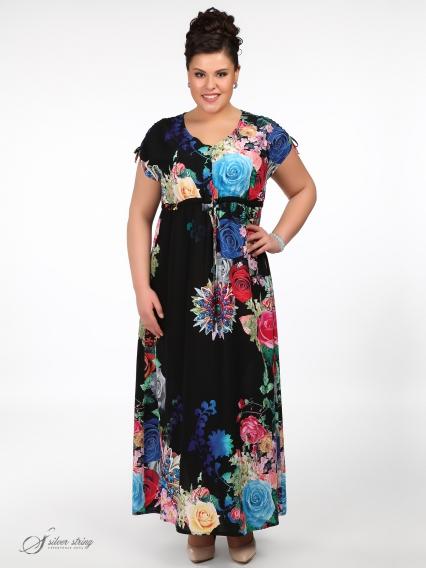 Женская одежда больших размеров - платье - 260514702
