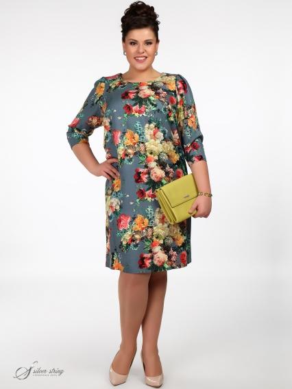 Женская одежда больших размеров - платье - 260520410