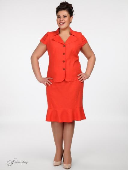 Женская одежда больших размеров - жакет - 260610119