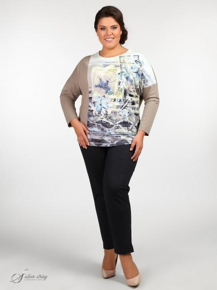 Женская одежда больших размеров - блузка - 265458114