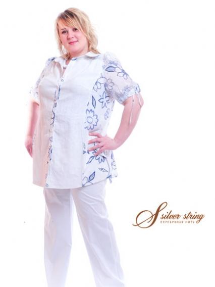 Блузки Женские Больших Размеров Раз 78-80