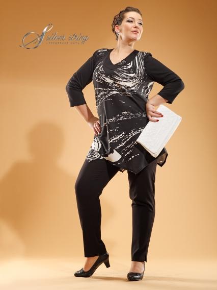 Серебряная Нить Женская Одежда Больших Размеров