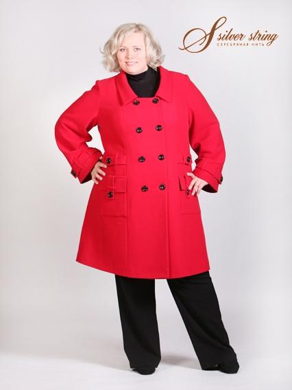 Пальто женские для полных