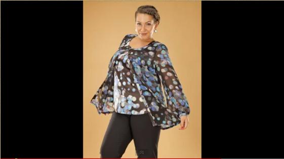 91738deb4ca Женская одежда больших размеров Lina    KakProsto  отзывы